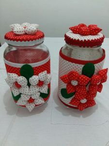 Diy designs trend for you Tin Can Crafts, Diy And Crafts, Crafts For Kids, Arts And Crafts, Mason Jar Crafts, Bottle Crafts, Christmas Sewing, Christmas Crafts, Scrap Material
