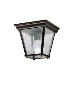 Kichler 9859 Kirkwood 1 Light Outdoor Flush Mount | Capitol Lighting 1-800lighting.com