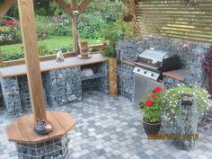 Summer kitchen. Kivikori kesäkeittiö.