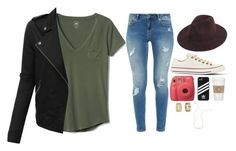 """Rad bro"" by emilylotito ❤ liked on Polyvore featuring Gap, LE3NO, Ted Baker, Converse, Fujifilm, adidas, WALL, Miss Selfridge and Wish by Amanda Rose"