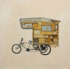 velo camper cyclotourisme pourquoi pas et roue. Black Bedroom Furniture Sets. Home Design Ideas