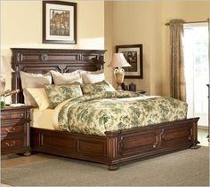 American Drew Barrington House 126 Panel Bed