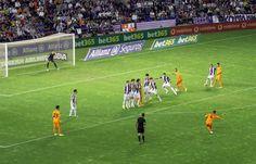 Futbol/Soccer. Liga BBVA, 1ª División-España: Real Valladolid 1 Real Madrid 1.