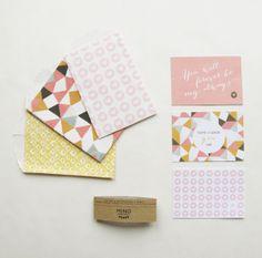 Mini wenskaartjes indie | Mino Paper Sweets