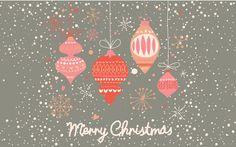 Retro ornaments and snow - Cute Christmas desktop backgrounds - free downloads http://alexklevine.tumblr.com/post/69274214043/christmas-desktop-backgrounds-1280x800