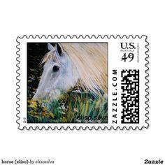 horse (eliso) estampilla
