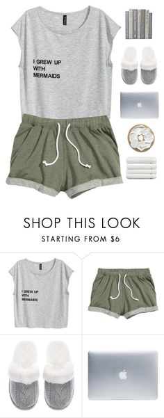 """""""Lazy day"""" by genesis129 ❤ liked on Polyvore featuring Victoria's Secret, Incase and Linum Home Textiles"""