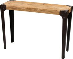 Industrial Style Console Table by Out There Interiors