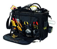 Best Tool Bags For Carpenters 3 Custom Leathercraft 1539 Multi Compartment 50 Pocket