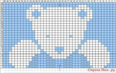 Crochet blanket patterns 750764200364692567 - SEE KP: Christmas baby sweater Ravelry: knitabitknitwit's Phildar # (Teddy Bear) CHART Source by gerbaudcatherin Baby Knitting Patterns, Crochet Teddy Bear Pattern, Crochet Bear, Knitting Charts, Knitting For Kids, Baby Patterns, Crochet Patterns, Blanket Patterns, Knitting Stitches