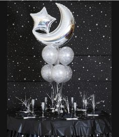 starry nights balloons theme - Google Search