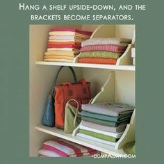 Amazing-Easy-DIY-Home-Decor-Ideas-upside-down-shelves