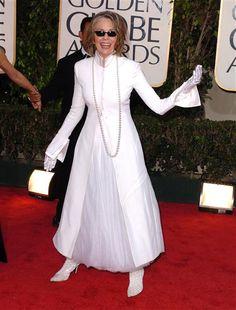 Diane Keaton at the 2004 golden globe awards