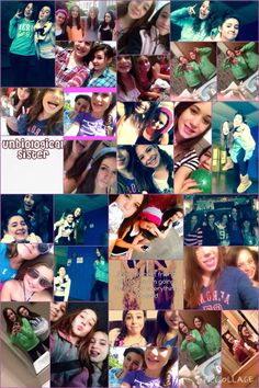 The only friends that stayed with me❤️ @chelburke2001 #maddy #ashley #bri #maddie #kylee[cousin]