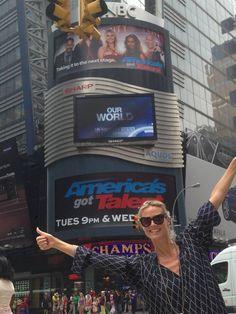 Don't miss tonight's America's Got Talent, Big Kiss from NY -Heidi