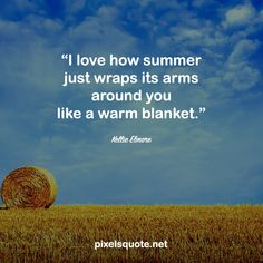 Summer is coming, with all the fun, love and inspirations. Let's celebrate this period of time with some happy and energetic summer quotes. End Of Summer Quotes, Happy Summer Quotes, Summer Rain, Summer Nights, Summer Is Coming, Summer Of Love, Summer Humor, Most Beautiful Words, Country Quotes