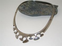 Solid Sterling Silver Sigi Pineda Taxco Hinged by BREDVintage, $995.00
