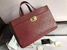 Chanel large zipped tote calfskin gold ruthenium metal-black-red size:38x25x14cm 0900CH7 whatsapp:+8615503787453