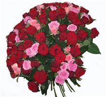 When it comes to great love, nothing compares to this stunning arrangement of 101 roses bouquet.