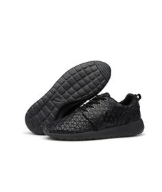 huge selection of 93a37 67288 Nike Roshe Run 2014 Commemorative Edition Mens Shoes Discount All Black  Deals Sale