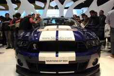 Salón del Autómovil - BsAs -2013 FORD MUSTANG GT 500  www.56studio.com  www.56studio.com