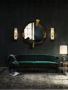 MAREE Samt Sessel Wohndesign | Wohnzimmer Ideen | BRABBU | Einrichtungsideen | Luxus Möbel | wohnideen | www.brabbu.com