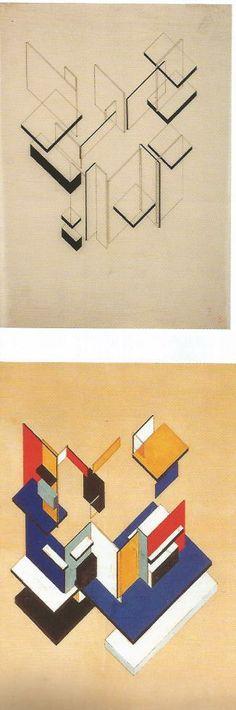 theo van doesburg maison particulière 1923