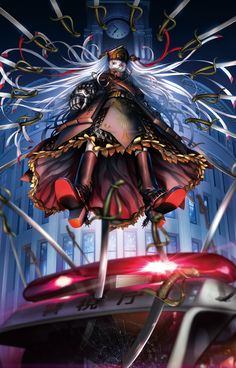 Black Lagoon Artist's New Re:Creators Anime Previewed in Video, Visual - News - Anime News Network