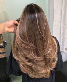 Brown Hair Balayage, Brown Blonde Hair, Brunette Hair, Blonde Balayage, Brunette Highlights, Color Highlights, Blonde Honey, Honey Hair, Blonde Ombre