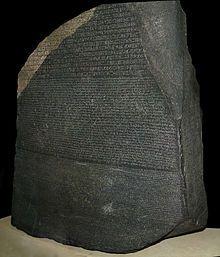 Piedra de Rosetta - Wikipedia, la enciclopedia libre