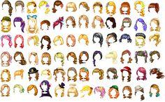 Fantage Kit ~ Hair :UPDATE: by Fantage-CustomMaker