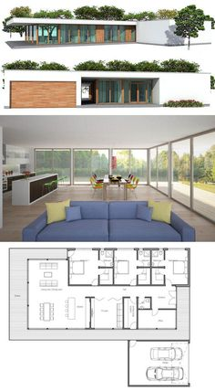 Small Modern House Plan and Elevation 1500sft Plan 552 2 Small