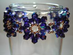Crystals challenge: Mary Darbyshire posted by BeadStyle. Rather easy to make.