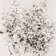 Karl Pilato, 42 x 42 in., watercolor on paper, untitled w17-1