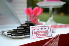 Cute Food Idea from this You're a Star Themed Talent Show Party with Lots of Really Cute Ideas via Kara's Party Ideas KarasPartyIdeas.com #hollywoodparty #talentshow...