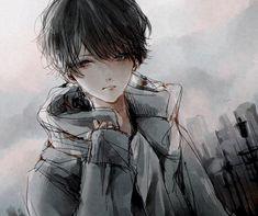 Marvelous Learn To Draw Manga Ideas. Exquisite Learn To Draw Manga Ideas. Sad Anime, Manga Anime, Image Manga, Estilo Anime, Cute Anime Guys, Anime Boys, Manga Boy, Boy Art, Manga Drawing