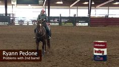 Problems with the 2nd Barrel with Ryann Pedone