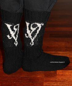 Viikate-villasukat ohje - Viikate wool socks pattern