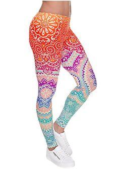 928a16ca321 Ayliss Printed Brushed Leggings Regular Plus Size Stretchy Capirs 22Pattern  Animal Fashion