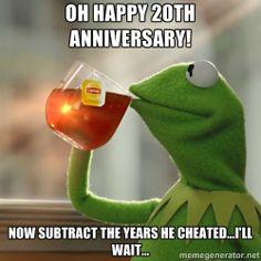 Kermit The Frog Drinking Tea -