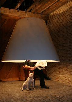 XL Lamp #PendantLamp #HugeLamp @idlights