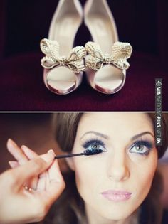 bows + pearls - shoe embellishment | CHECK OUT MORE IDEAS AT WEDDINGPINS.NET | #weddings #diyweddings #diy