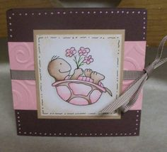 Pink Turtle Post-It by SassiAngel - Cards and Paper Crafts at Splitcoaststampers  so so cute