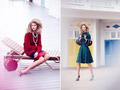 Fashion - glamorous view shoot in Vogue Mexico - November 2013