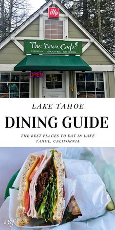 This Winter marked my first Winter Tahoe trip in my five years of living in San Francisco. After years of waiting, I finally had a fabulous four-day weekend in Tahoe. Here is my Tahoe Dining Guide, composed of some of the amazing spots my local friend recommended we visit during my 48 hours in the Tahoe City area! California Restaurants, California Destinations, California Travel, Tahoe City, Lake Tahoe, Wine Recipes, Mexican Food Recipes, Ethnic Recipes, West Coast Foods