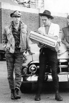 Paul Simonon & Mick Jones of The Clash