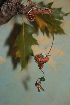 Image result for how to make fairy tree with polymer clay, glass, and wire