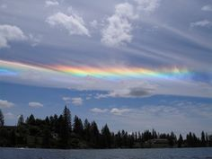 Fire rainbow Cirrus Cloud, Fire Rainbow, Rainbows, The Outsiders, Photoshop, Earth, Clouds, Sunset, Outdoor
