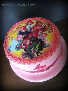 ROSE D' ALBA: Winx cake