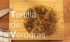 Tortilla de Verduras | Recetas Clean Eating | FitFood